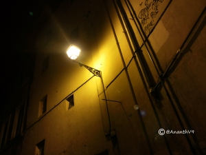 Streets of ROME by Night Ananth V